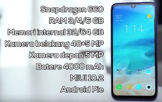 Hp Gaming 2 Jutaan Xiaomi Redmi Note 7 Cocok Untuk Main Game PUBG
