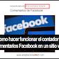 Como hacer funcionar el contador de comentarios Facebook en un sitio web