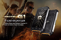 Защищённый смартфон Geotel G1 Terminator с ёмкой батареей на 7500 мАч