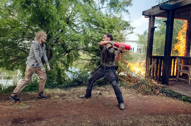 The Walking Dead: una scena della midseason premiere