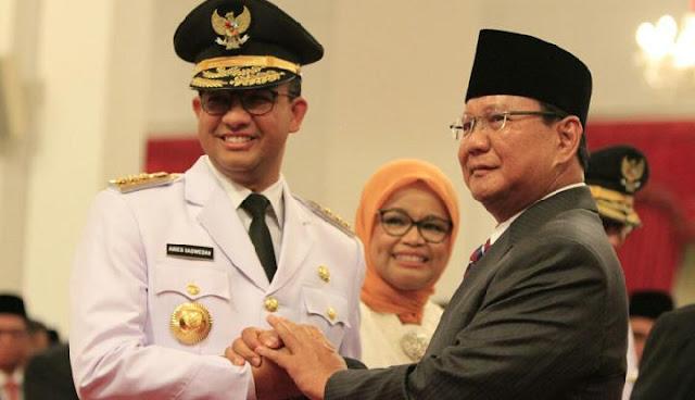 Amien Rais Jawab Skenario Prabowo Lawan Anies pada 2024