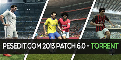 Pesedit 6.0, Original, No Update for uTorrent PES 2013