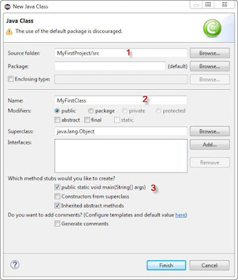 create eclipse project step2