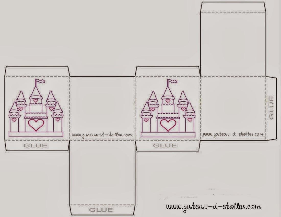 Princess: Free Printable Templates for Party Kit.