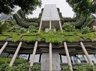 El Hotel Park Royal de Singapur.