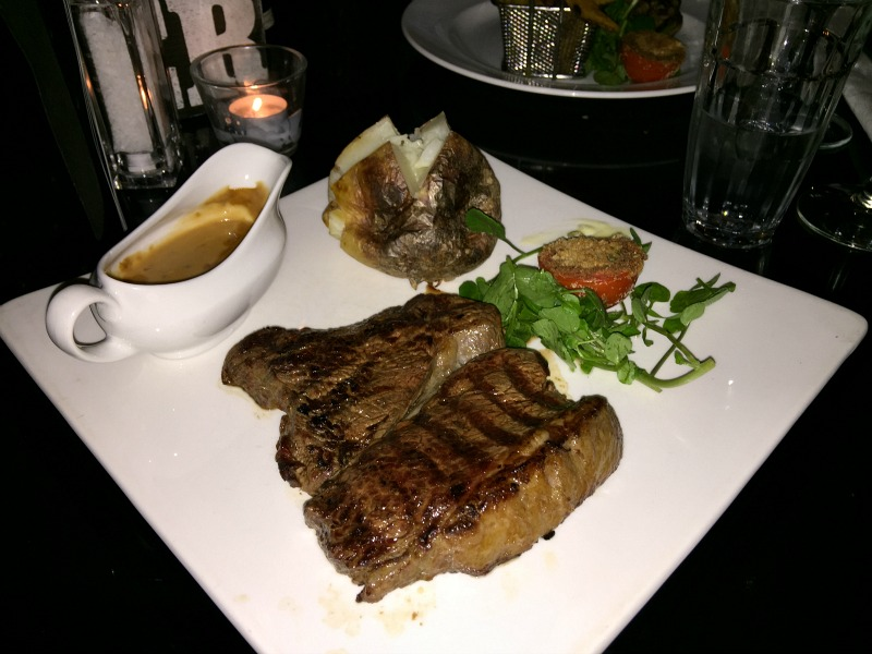 Rump steak at Grill on the Corner Glasgow