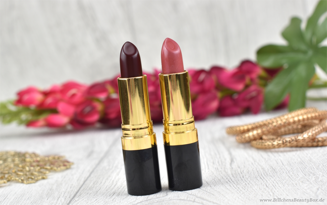 REVLON - Super Lustrous Lipstick - Review & Swatches
