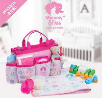 Dusdusan Mommy and Me Elephant Baby Bag Set of 3 ANDHIMIND
