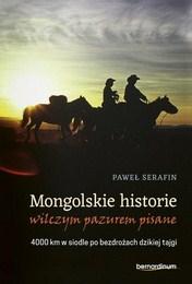 http://lubimyczytac.pl/ksiazka/4817462/mongolskie-historie-wilczym-pazurem-pisane-4000-km-w-siodle-po-bezdrozach-dzikiej-tajgi