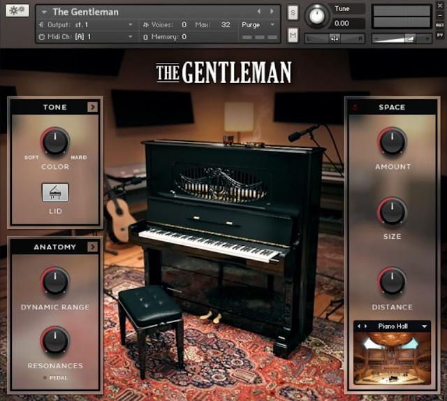 Interface Kontakt Library Native Instruments - The Gentleman