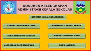 Dokumen Kelengkapan Administrasi Kepala Sekolah