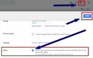 Google Sheets Offline