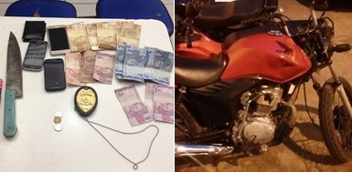 Caxias: Dupla é presa após assaltar residência na Trizidela