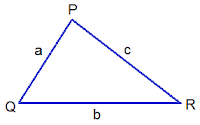Scalene Triangle PQR