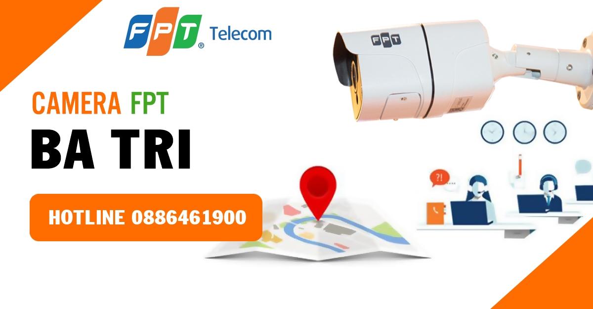 Bảng báo giá lắp đặt camera ở Ba Tri - Cloud Camera FPT