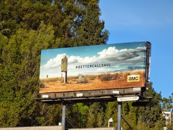 Better Call Saul series launch billboard