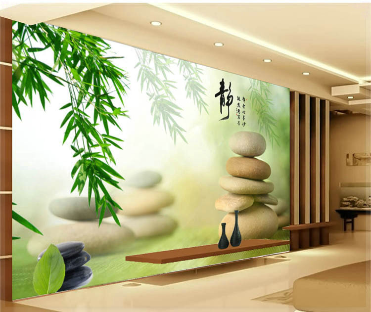 Home House Design Ideas: 35 Beautiful Large 3D Wallpaper Mural Interior Designs