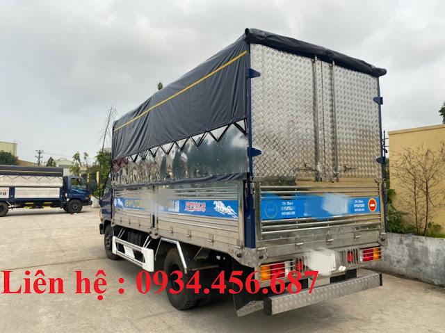 Cải tạo nâng chiều cao thùng xe tải