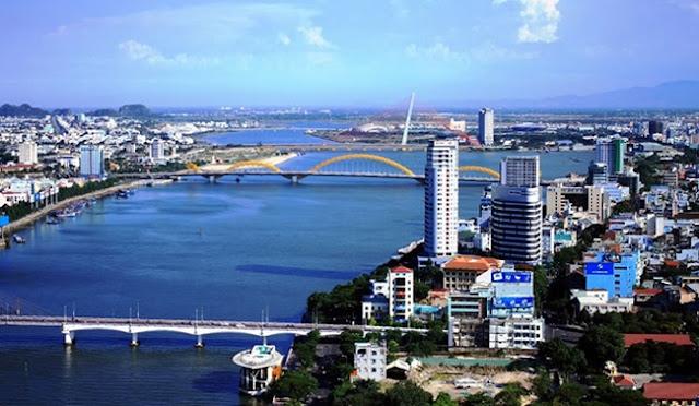 Một góc trung tâm thành phố Đà Nẵng