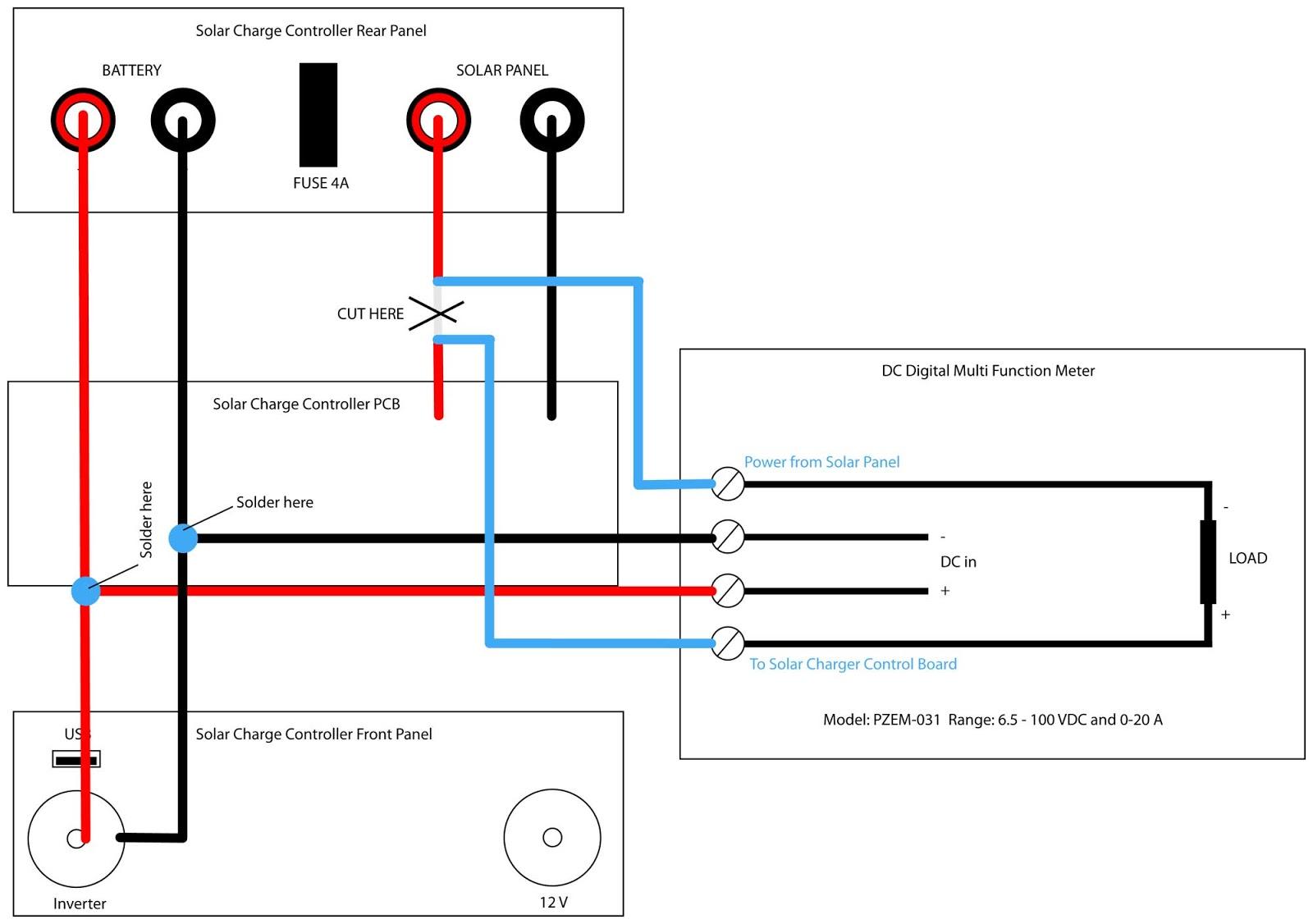solar panel meter wiring diagram car harness mygiguser