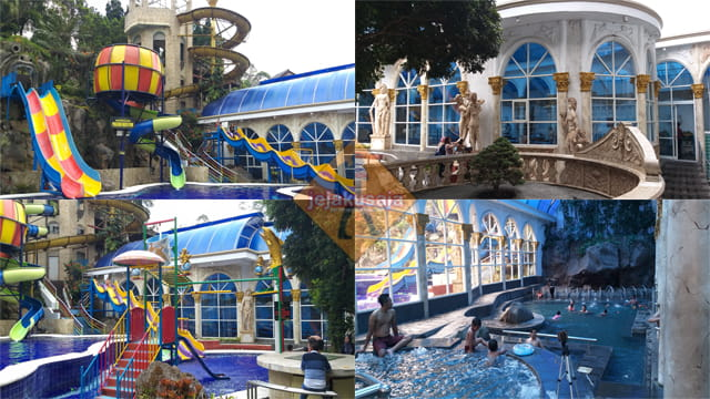 Review Kolam Renang Hotel Grand Paradise Lembang Jejakusaja