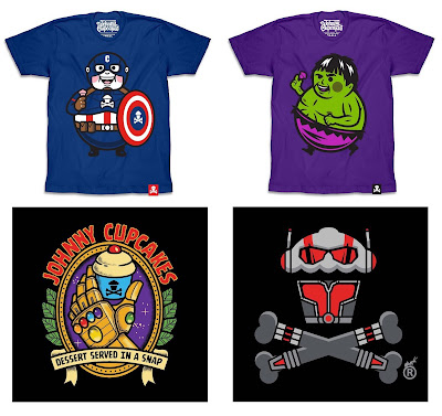 Marvel's Avengers: Endgame T-Shirt Collection by Johnny Cupcakes
