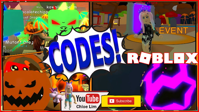Roblox Bubble Gum Simulator Gameplay! NEW CODES! Hatching All Halloween Event World Eggs!