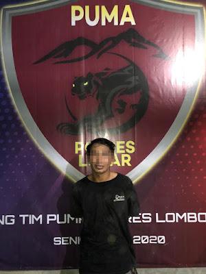 Tim Puma Polres Lobar Ungkap Kasus Curanmor