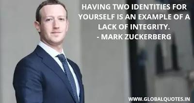 Mark Zukerberg Quotes on success
