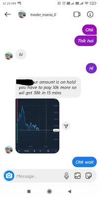 Exposed Instagram Trading Scam