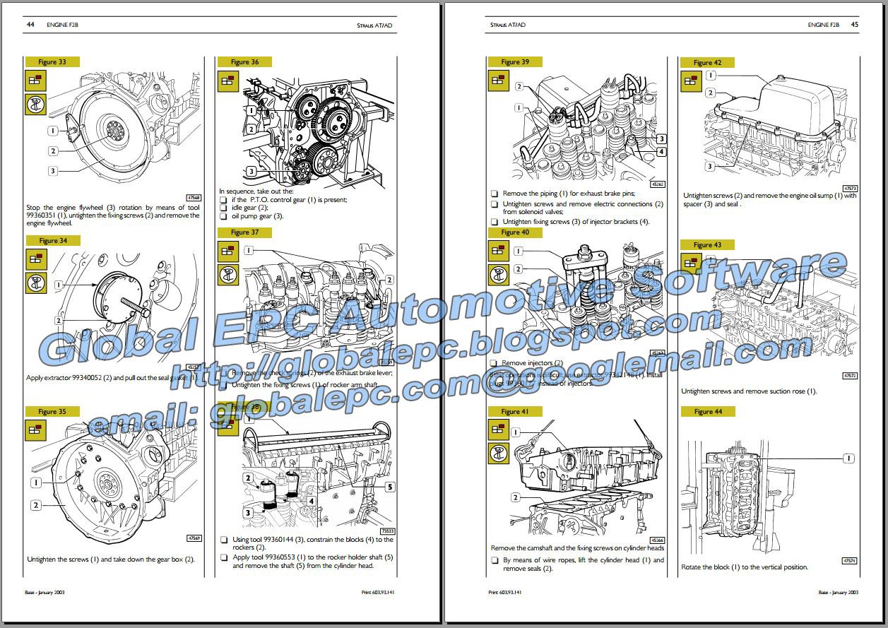 Auto Moto Repair Manuals  Iveco Stralis Workshop Repair