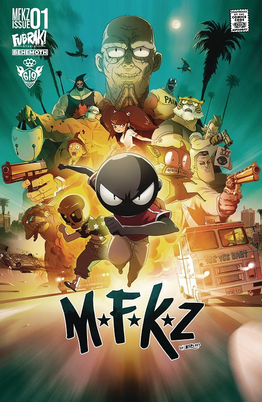 Cover of MFKZ #1