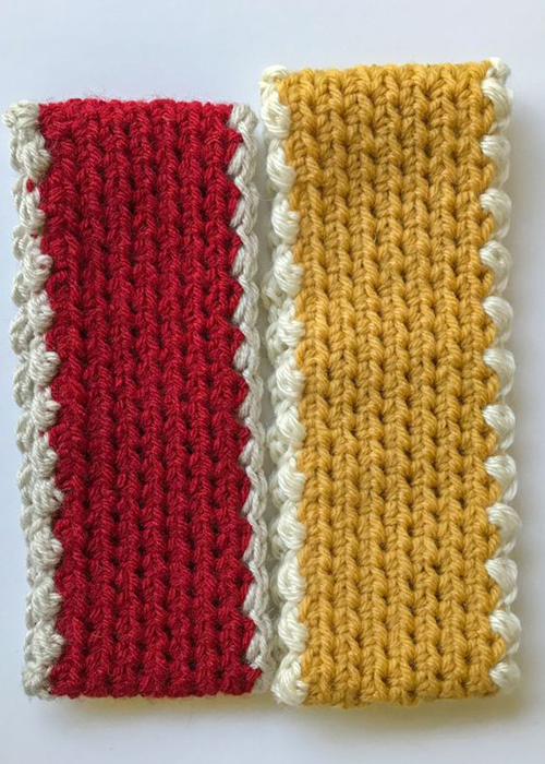 Easy Crochet Ear Warmer - Free Pattern & Size Chart