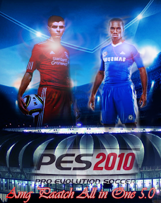 PES 2010 AMG Patch 2010 5.0 AIO + Update 5.1 Season 2010/2011