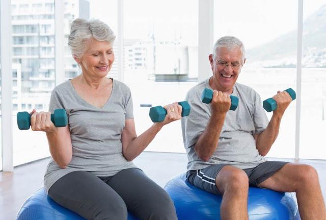 نصائح إرشادية لتمارين كبار السن