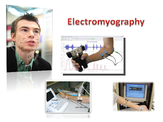 Electromyographic sensors attached to the face records the electric signals produced by the facial muscles, compare them with pre-recorded signal pattern of spoken words