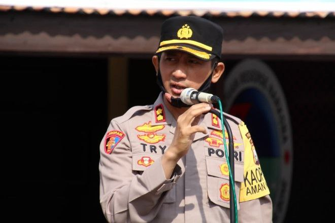 AKBP Try Handako Wijaya Putra, S.IK, Kapolres Bone