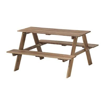 Meja Taman Kayu yang Mudah Dalam Perawatan