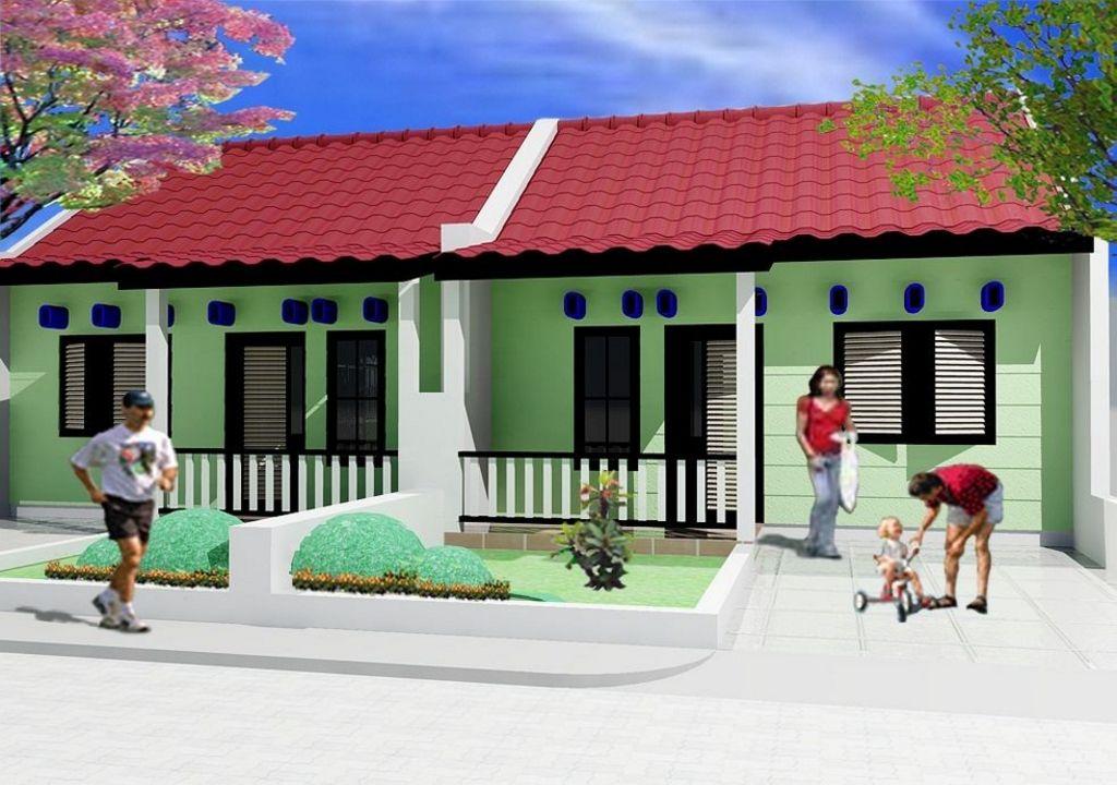 Desain Rumah Betawi Minimalis Modern Populer