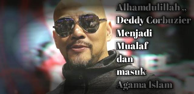 Biografi dan profil Deddy corbuzier Menjadi Mualaf dan Memeluk Agama Islam Terbaru