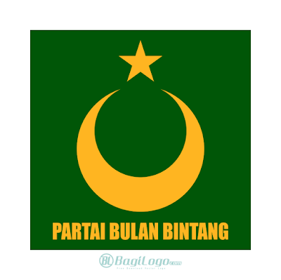 Partai Bulan Bintang Logo Vector