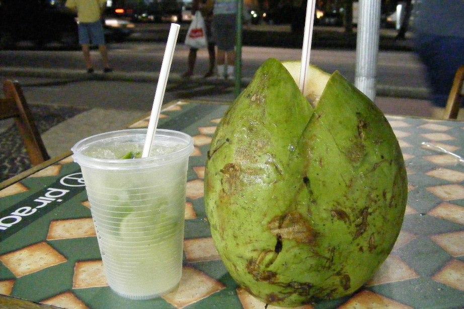 Caipirinha & Agua de Coco