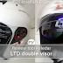 (Ulasan) Helmet LTD Infinity RAM Double Visor