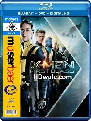 X Men First Class Full Movie Download (2011) 1080p, 720p BluRay