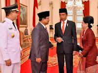 """Saat Istri Jokowi Colek Prabowo, Minta """"Anu"""""""