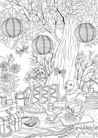 Dogs coloring pages 34