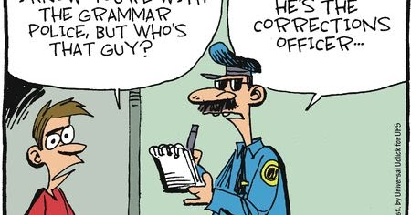 Mystery fanfare cartoon of the day grammar police thecheapjerseys Images