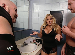 WWE / WWF - No Mercy 2000 - Trish Stratus with T&A