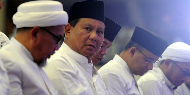 Gerindra: Pendamping Prabowo Diutamakan Beragama Islam