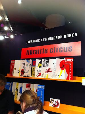 Montreuil, salon du livre de jeunesse, exposition cirque de Brigitte Rio